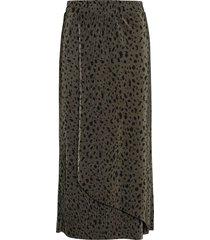 sc-olinda knälång kjol grön soyaconcept