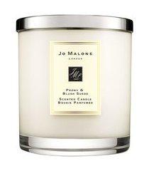 vela perfumada peony & blush suede luxury candle 2,1kg - bege