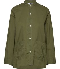 arc shirt blouse lange mouwen groen hope