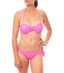 bikini playa del sol maillot de bain b9809 rose