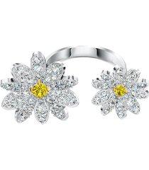 anel feminino eternal flower open em metal - ródio