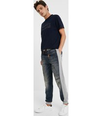 hybrid denim bolimania trousers - blue - 36