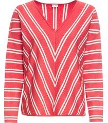 maglione a righe (fucsia) - bodyflirt