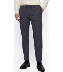 boss men's banks1 slim-fit trousers