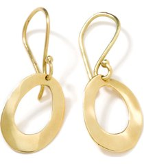 ippolita classico mini wavy oval hoop earrings in gold at nordstrom