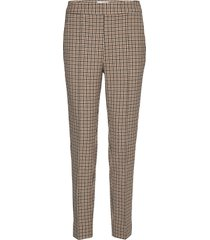 lachlan hw trousers pantalon met rechte pijpen beige second female