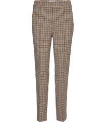lachlan hw trousers pantalon met rechte pijpen beige second female