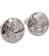 mancornas pasión fútbol para traje de caballero importadas acero inox