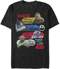 fifth sun men's star wars best father in the galaxy short sleeve t-shirt