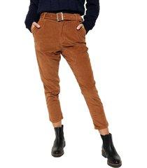 pantalón marrón wanama miranda