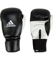luvas de boxe adidas power 100 smu colors - 12 oz - adulto - preto/branco