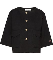 gina jacket blazer colbert zwart busnel