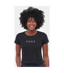 camiseta roxy baschique feminina