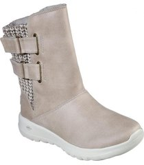 bota  on-the-go joy - sweater weat natural skechers