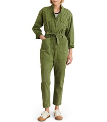 women's alex mill expedition twill jumpsuit, size x-large - green