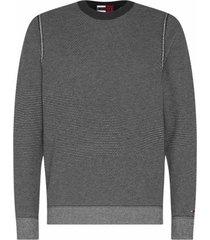 tommy hilfiger trui zwart wit