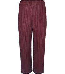 pleats please issey miyake pleat effect trousers