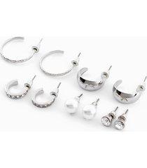 orecchini (set 10 pezzi) (argento) - bpc bonprix collection
