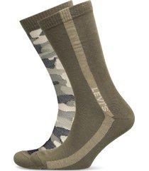 levis regular cut camo 2p underwear socks regular socks grön levi´s