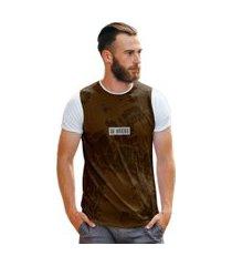 camiseta terra seca rachadura marrom vintage brasil