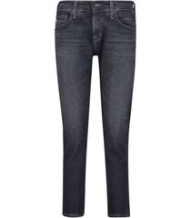 slim fit dark jeans