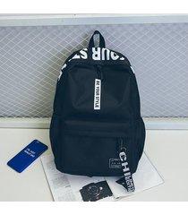 mochilas outdoor mochila de viaje oxford simple mujeres hombres escuela