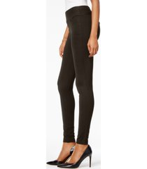 style & co mid-rise ponte-knit leggings, created for macy's