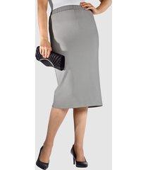 kjol m. collection silvergrå