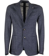 tagliatore linen and cotton jacket blazer