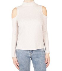 beige dames top supertrash - tactus