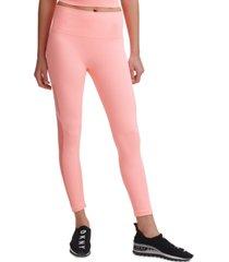 dkny sport seamless high-rise 7/8 length leggings