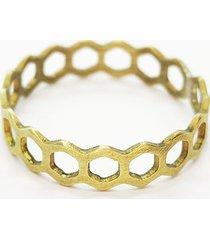 eko pierścionek, obrączka srebro złocone