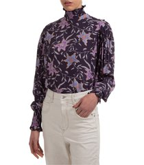 camicia donna maniche lunghe blusa yoshi