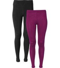 leggings (pacco da 2) (viola) - bodyflirt