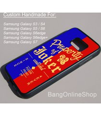 suicide squad property of joker jacket for samsung galaxy s7 s6 s5 s4 s3 case