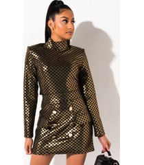akira get out my way button front mini skirt