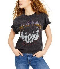 junk food def leppard oversized graphic t-shirt