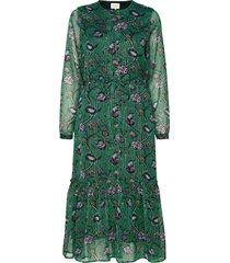 anastacia dress jurk knielengte groen lollys laundry