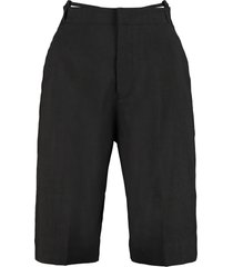 jacquemus gardian straight-leg bermuda-shorts