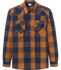 camicia a maniche lunghe (marrone) - john baner jeanswear