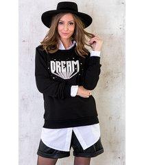 dream trui zwart