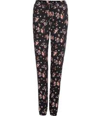 pantaloni a fiori (nero) - rainbow