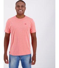 camiseta ecko fashion basic rosa mescla.