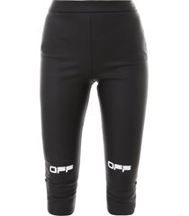 off-white active capri pant leggings