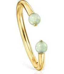 anillo batala de oro vermeil con cuarcita 918545520