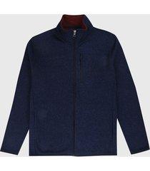 chaqueta azul-vinotinto nautica