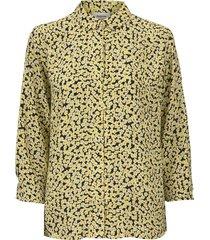 berta print shirt desert flower