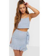 nly trend sweet lullaby skirt minikjolar