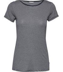night-t-shirts top blå esprit bodywear women