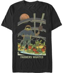 nasa men's mars farmers wanted short sleeve t-shirt